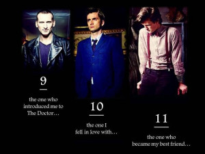 Doctor Who -Nine, Ten, and Eleven