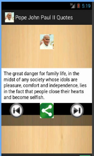 pope john paul ii quotes is a collection of 100 s of famous pope john ...