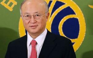 Atomic Energy Agency director general Yukiya Amano Picture REUTERS