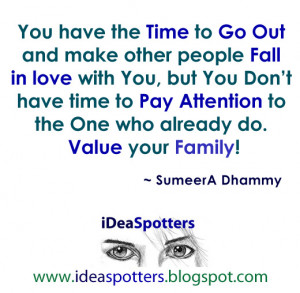 make time for family quotes