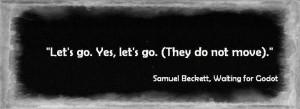 quote samuel beckett waiting for godot