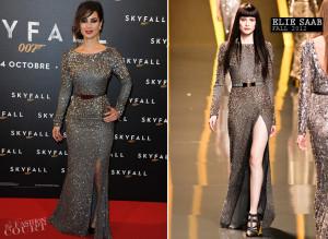 Berenice Marlohe Skyfall Black Dress
