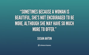Because She Is Beautiful Quotes