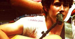 best love quotes Nick Jonas
