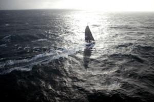 vendee globe open 60 yacht hugo boss skippered by alex thomson