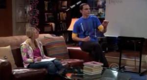 The Big Bang Theory - Sheldon teaches Penny Physics [w/video]