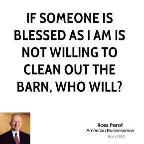 Ross Perot Business Quotes
