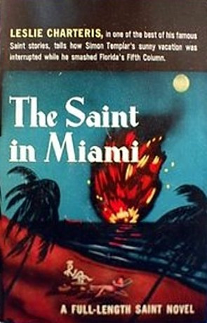 """Start by marking """"The Saint in Miami"""" as Want to Read:"""