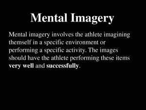 Imaging Your Peak Athletic Performance