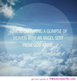Quotes About Heaven A glimpse of heaven