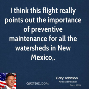 ... of preventive maintenance for all the watersheds in New Mexico