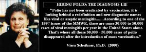 Hiding Polio quotes