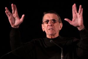 Leonard Nimoy, aka Mr. Spock, points out the logic of avoiding tobacco ...