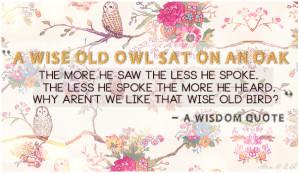 cute owl quotes