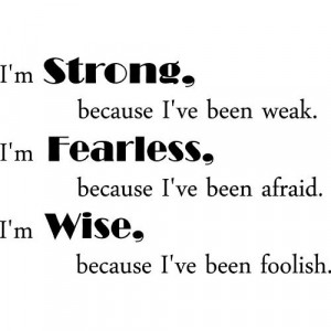 Im Strong Quotes