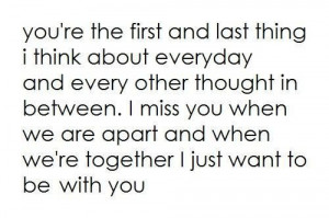 Cute i love you quotes for your boyfriend