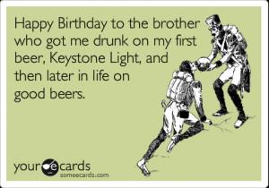 happy birthday little brother someecards