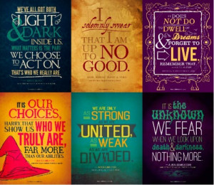 love these Harry Potter quotes rendered artistic by thereadables ! I ...