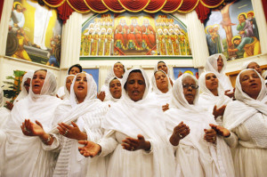 Ethiopian Orthodox Church celebrates Easter