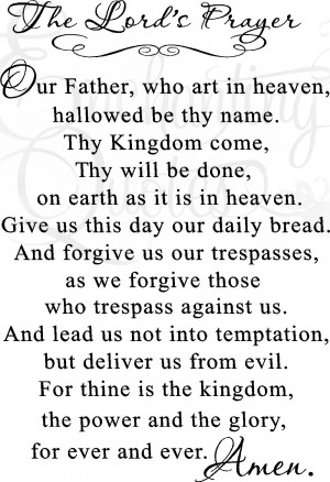 vector vinyl ready quotes lord s prayer item vector quotes lords