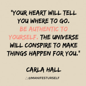be authentic to yourself carla hall # quotes # motivation click to ...