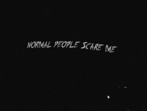 american horror story, tate langdon, text