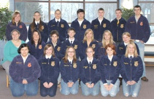 van buren tech center ffa morning students are shown front row from ...