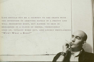 Great Hunter S. Thompson quote
