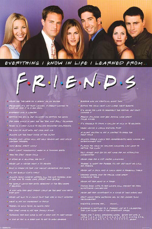 FRIENDS POSTER ]