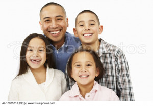 parent families single parenthood sisters small group of people studio ...