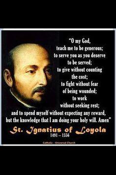 st ignatius of loyola more prayer st ignatius catholic collection ...