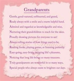 sentimental sayings about Grandmothers