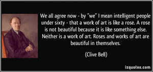 More Clive Bell Quotes