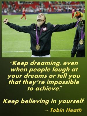 Soccer Poster Tobin Heath Olympic Soccer Photo by ArleyArtEmporium, $ ...
