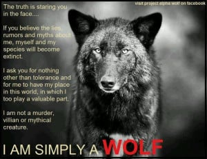 Twitter / 27_Beast: Save the wolves. Enough said! ...