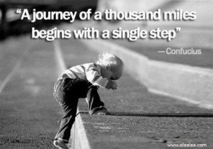 Motivational Thoughts by Confucius-A Journey of thousand miles