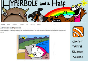 Allie Brosh Blog Features Funny Stories Accompanied Hilarious