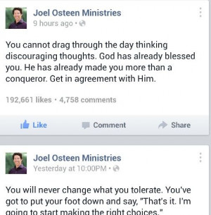 Joel Osteen Great Motivator