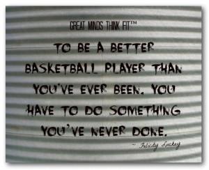 Basketball Player...