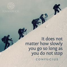 quotes #confucius #persistence #keepmoving More