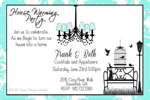 Heavenly Housewarming Party Invitation Wording Ideas