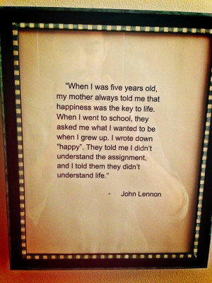 want this quote in our baby's room!