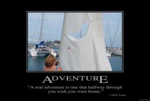 Mark Twain's Adventure Quote ???