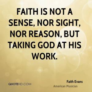 Faith Evans Faith Quotes