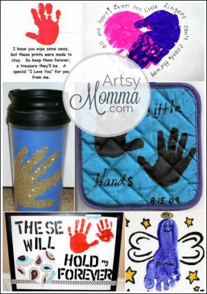 Grandparent's Day Ideas: Handprint Crafts