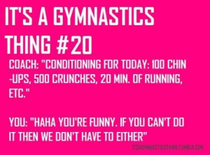 its a gymnastics thing | do this so much! | Its a Gymnastics Thing