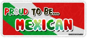 Nationalities Graphic - Proud To Be Mexican
