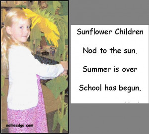 ... .htm.: Small Poems, Schools Poems, Children Poems, Sunflowers Poems