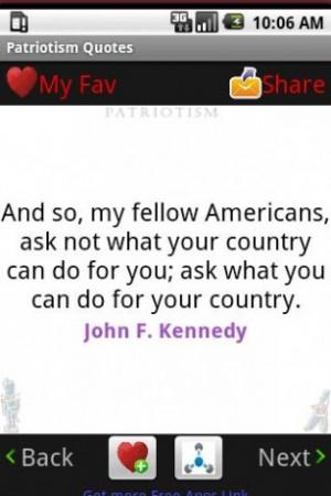 Patriotism Quotes !