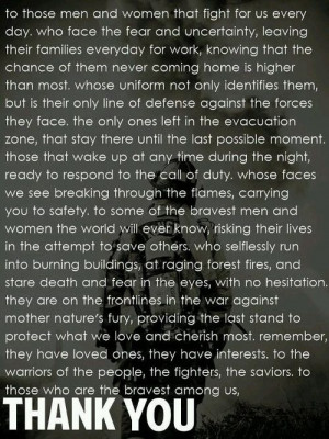 firefighter sayings and quotes   Firefighter Quotes About Brotherhood ...